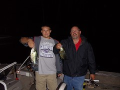 Night time crappies - 12