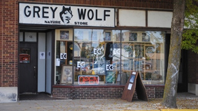 Gift Shop Grey Wolf Nature Store in Rhinelander, WI